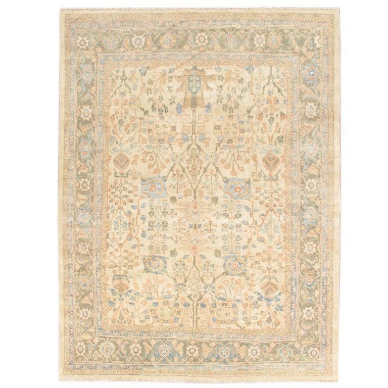 Lovely nice new sultanabad rug for sale at 1stdibs for Nice rugs for sale