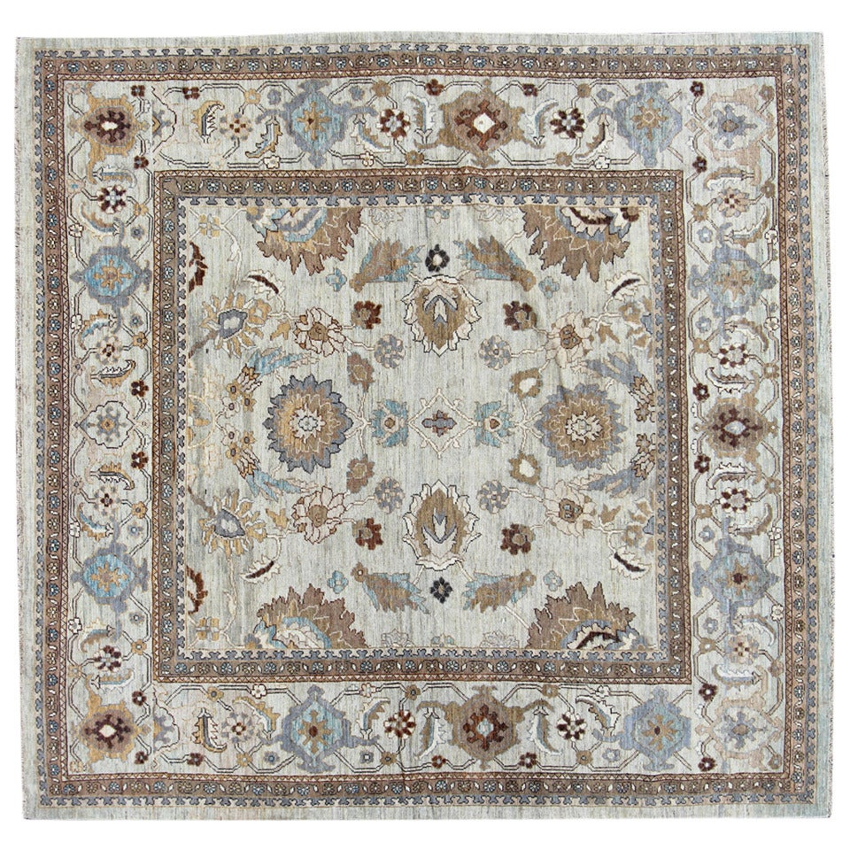 Square Sultanabad Style, Pakistani Carpet at 1stdibs