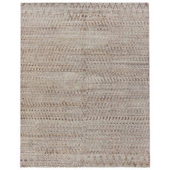 Moroccan Handmade Flat-Weave Rug