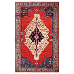 Simply Beautiful Antique Bakshaeish Rug