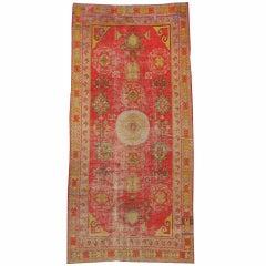 Antique Turkish Khotan Carpet
