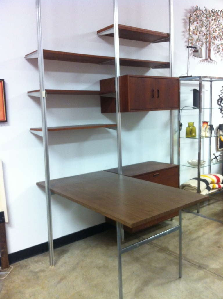 George Nelson Herman Miller Omni CSS Wall Unit Desk at 1stdibs