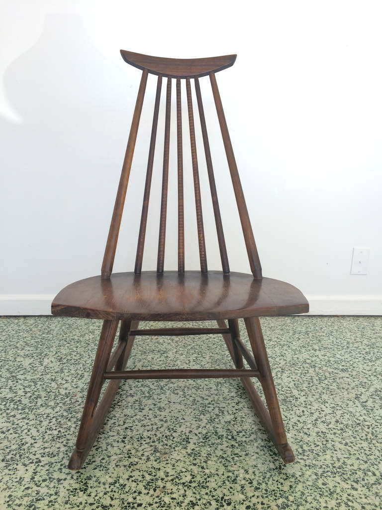 this danish modern mid century rocking chair is no longer available