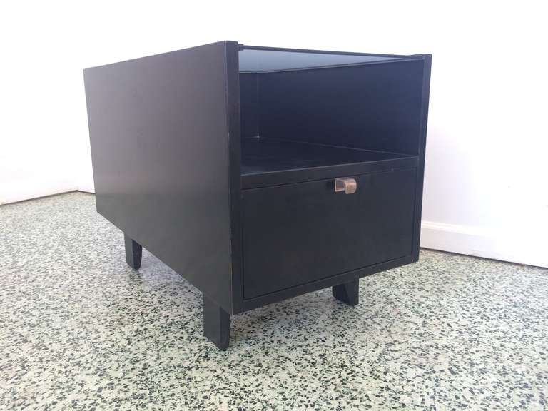 George Nelson Herman Miller Side End Table at 1stdibs