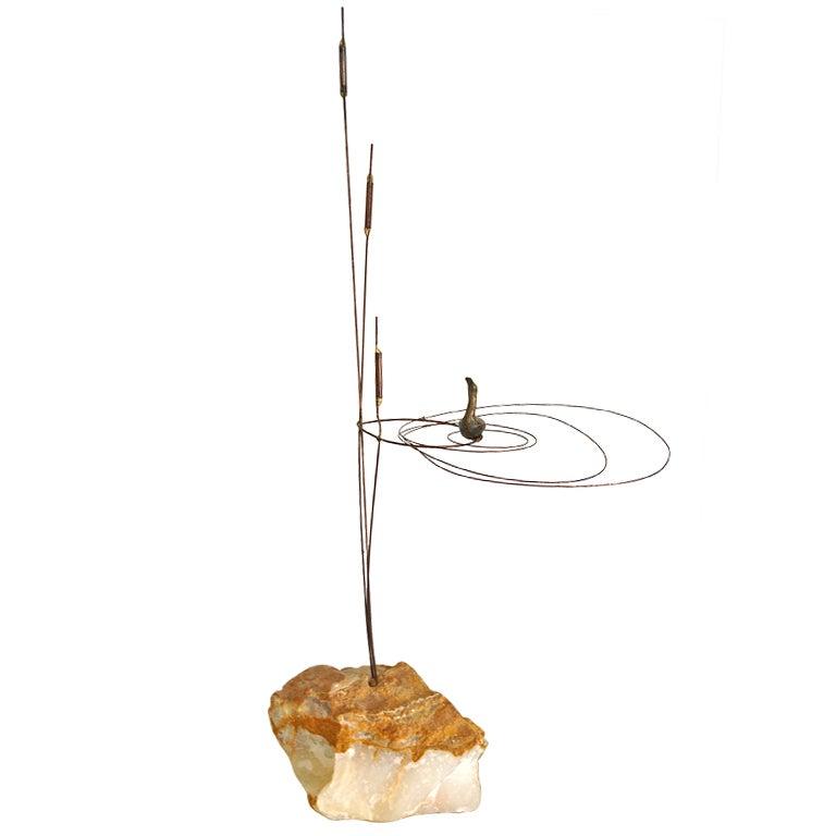 Curtis Jere Bird Rock Sculpture