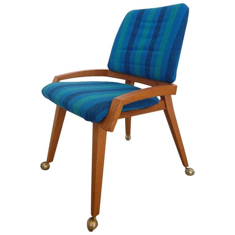 Mid Century Slipper Vanity Chair At 1stdibs