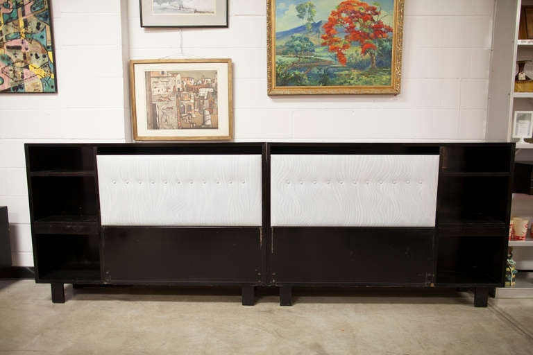 George Nelson For Herman Miller King Bed Headboard Cabinet