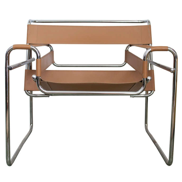 wassily chair by marcel breuer for knoll at 1stdibs. Black Bedroom Furniture Sets. Home Design Ideas