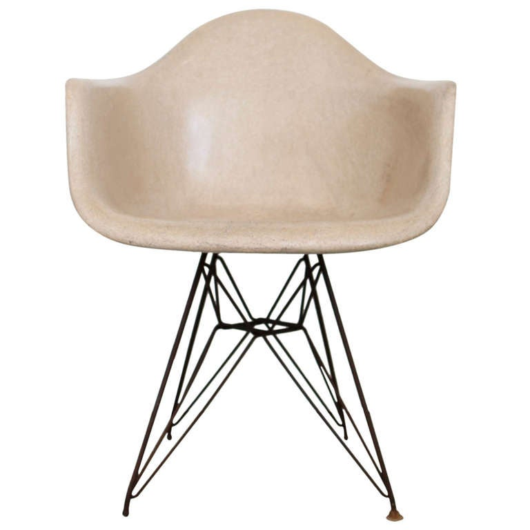 Herman Miller Eames Armchair Eiffel Base For Sale