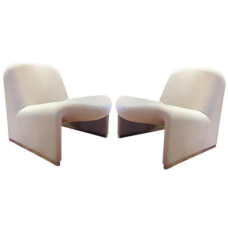 Pair Of Quot Alky Quot Chairs By Giancarlo Piretti For Castelli At