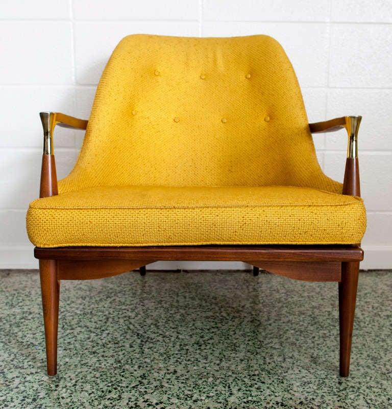 Mid-Century Modern Ib Kofod-Larsen Lounge Chair