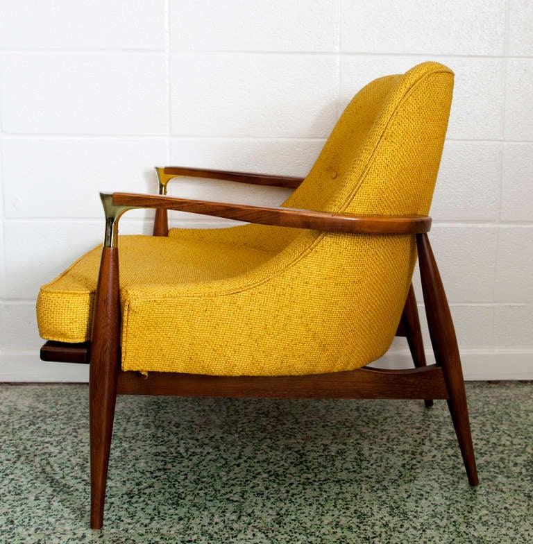 Mid-20th Century Ib Kofod-Larsen Lounge Chair