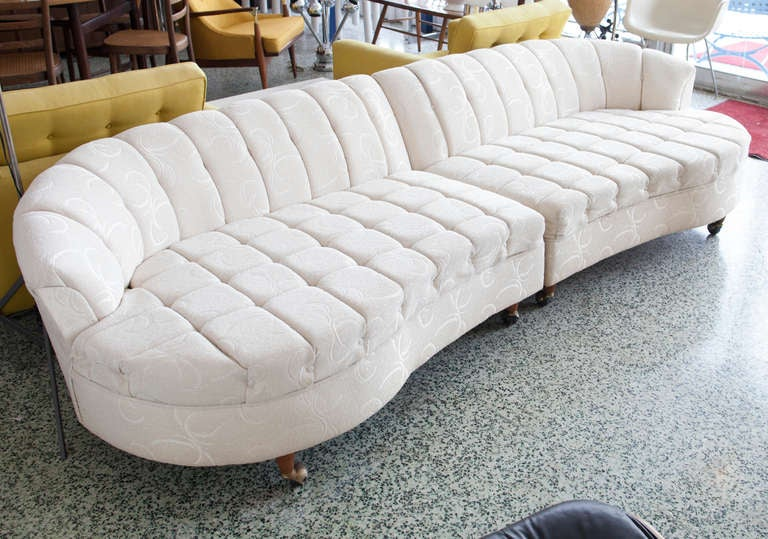 Hollywood Regency Sectional Sofa At 1stdibs