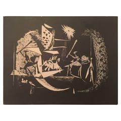 Picasso Toreros with Four Original Lithographs Book