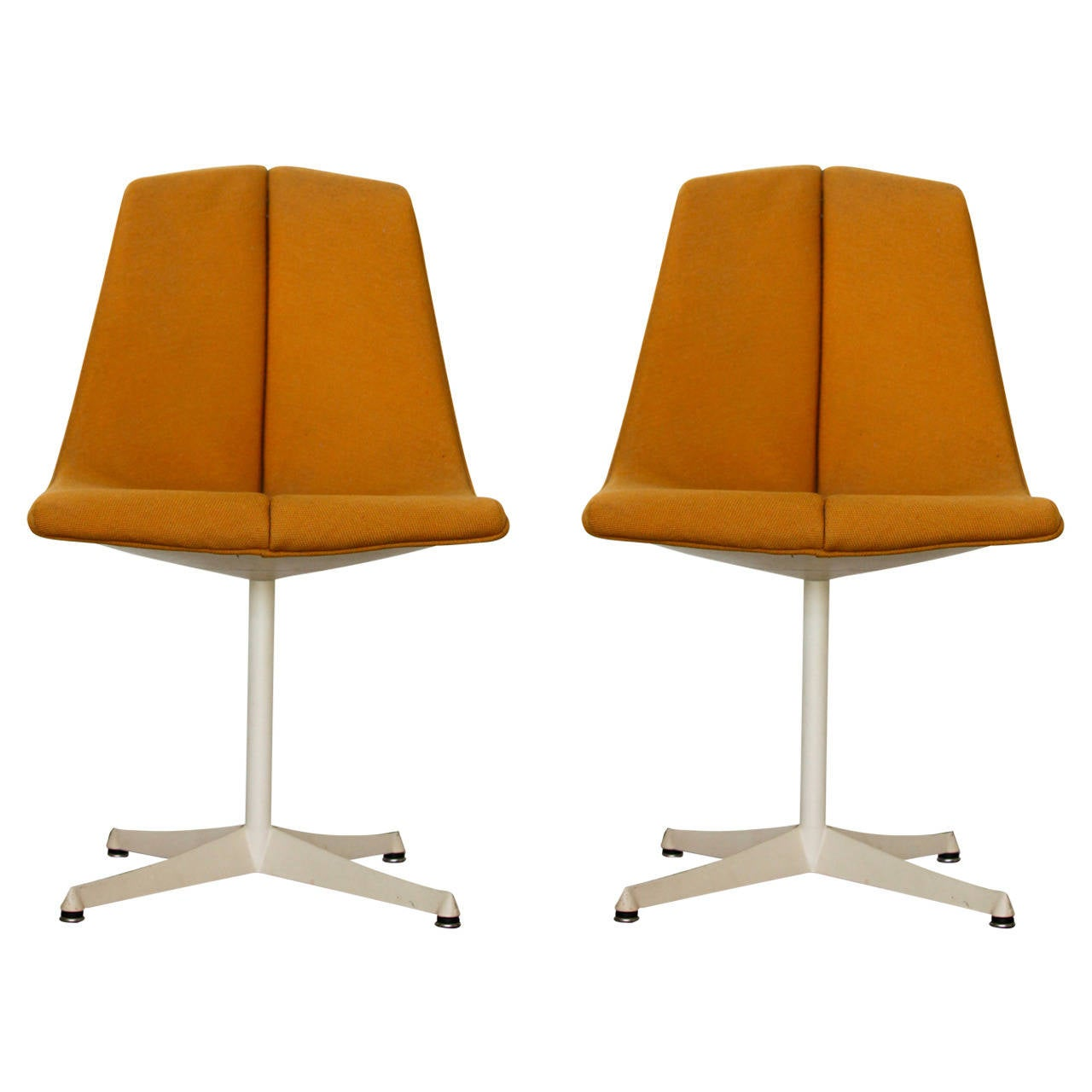 Pair of Richard Schultz Side Chairs for Knoll For Sale