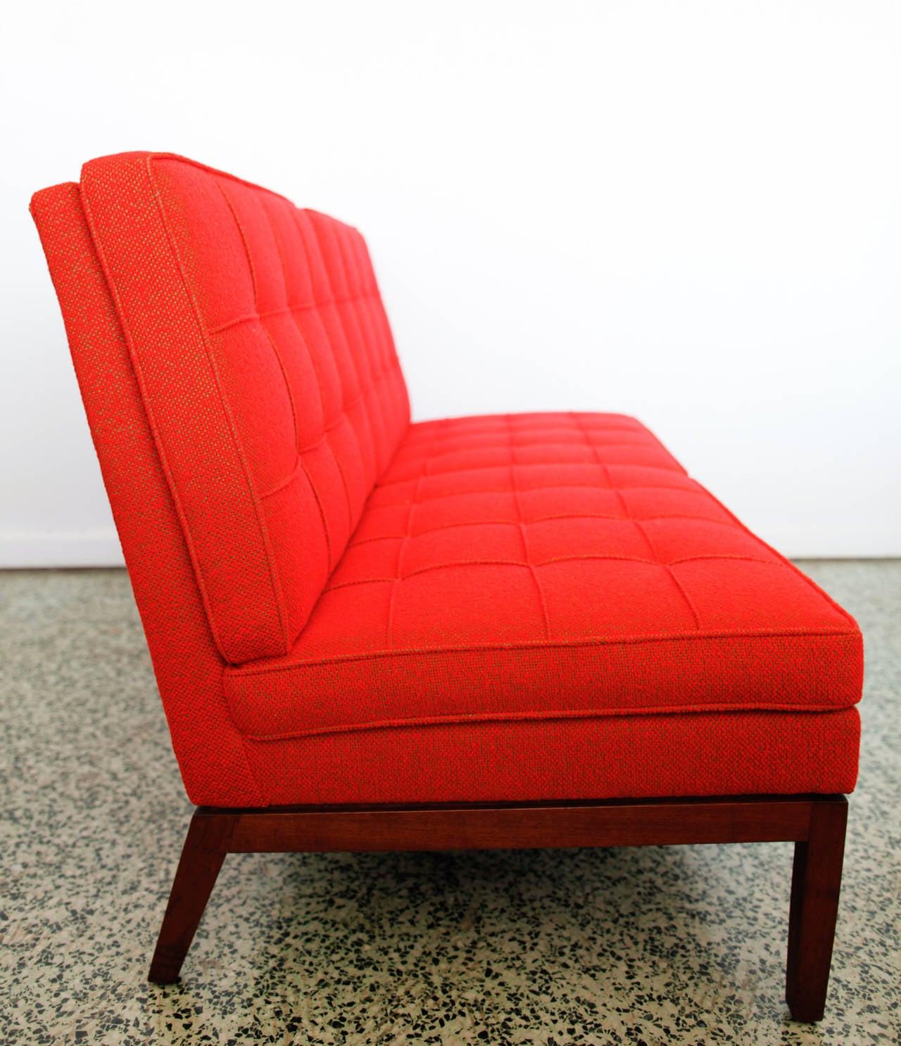 florence knoll for knoll sofa at 1stdibs. Black Bedroom Furniture Sets. Home Design Ideas