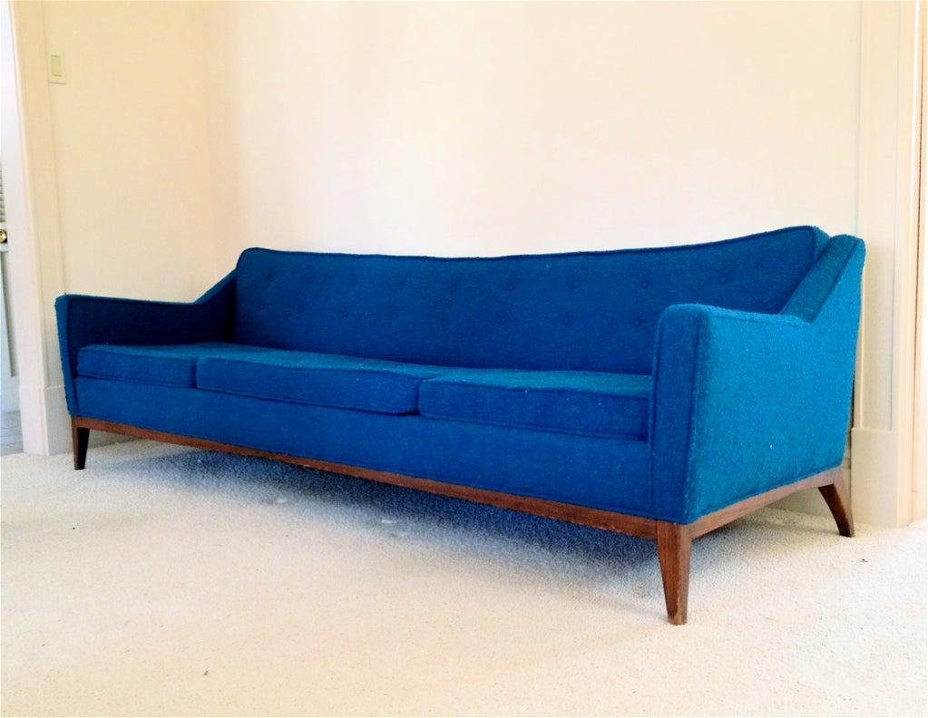 jens risom mid century sofa at 1stdibs. Black Bedroom Furniture Sets. Home Design Ideas