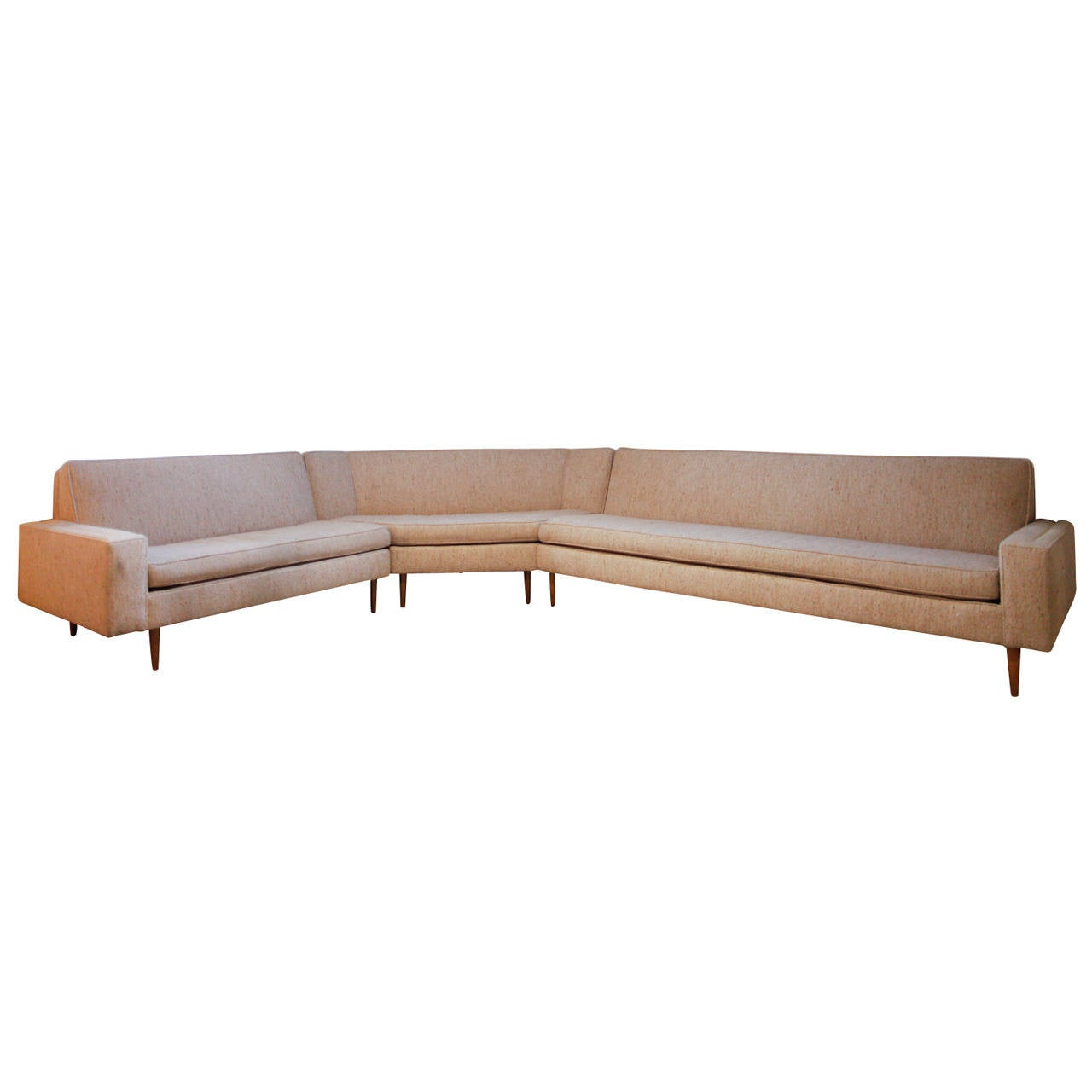 Harvey Probber Three-Piece Sectional Sofa