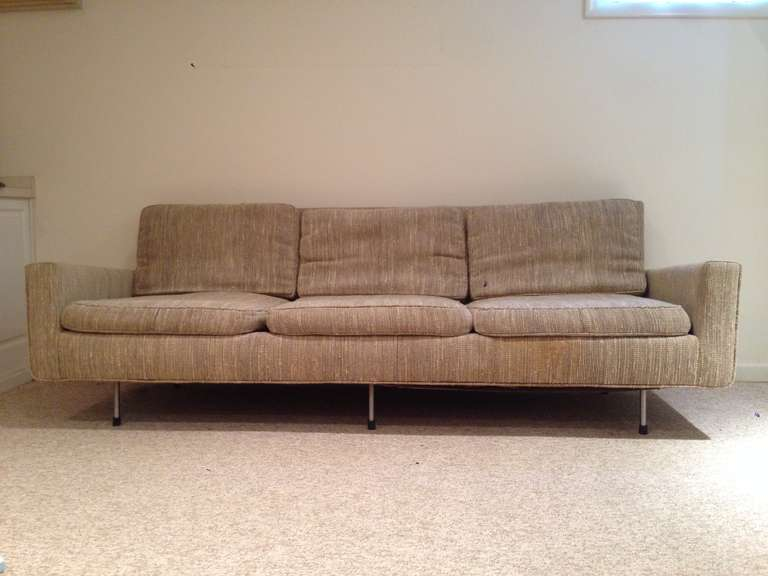 florence knoll for knoll associates sofa at 1stdibs