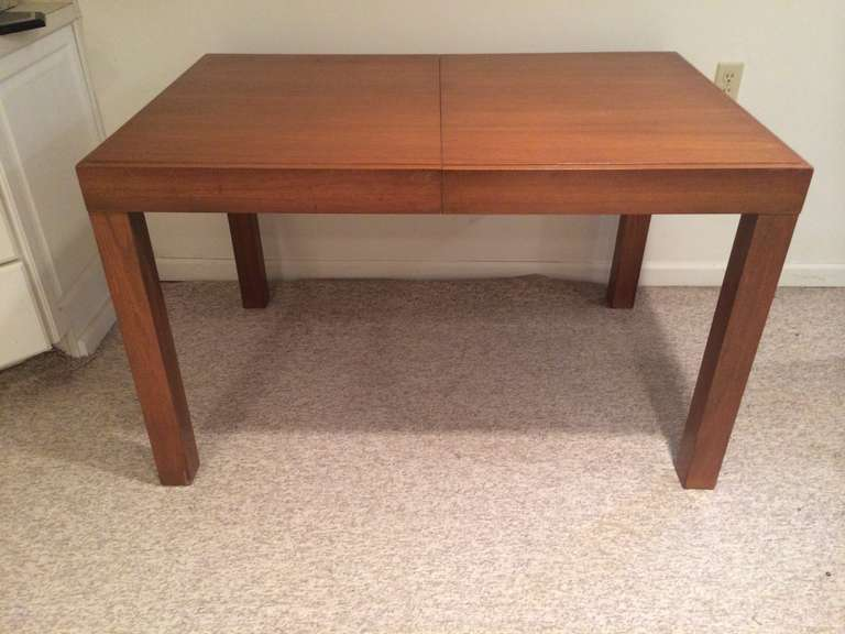 From The Herman Miller Collection Walnut Dining Table By George Nelson Has Beautiful Clean Lines