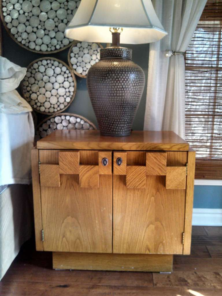 Paul Evans Inspired Brutalist Mosiac Bedroom Dresser Set