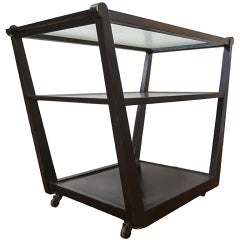 Edward Wormley Precedent Collection Bar Cart