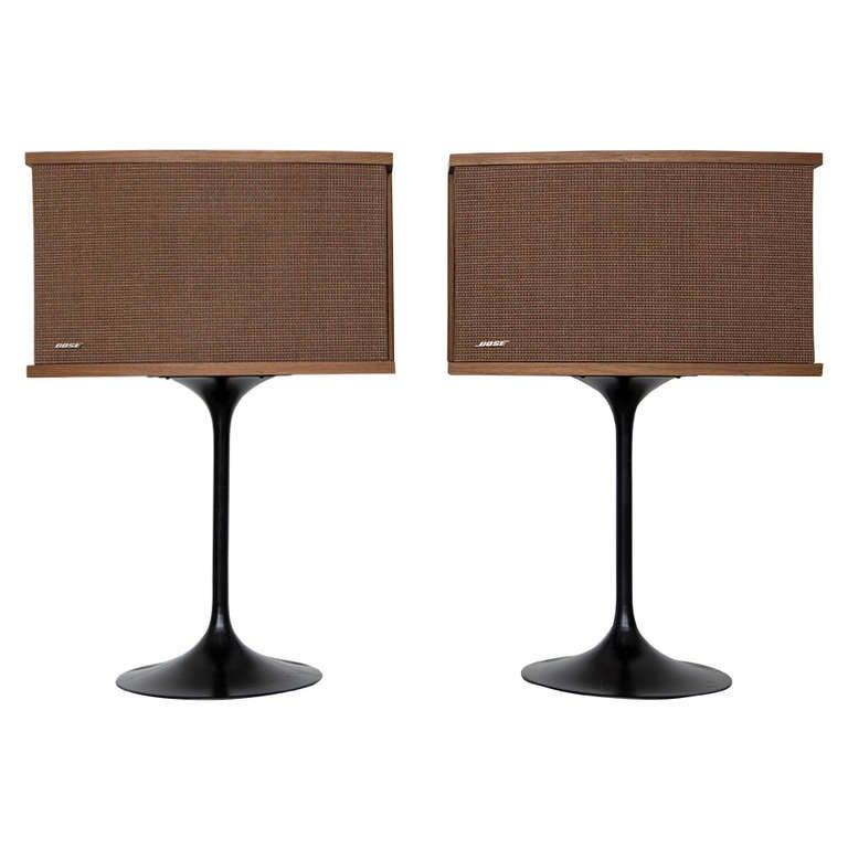 Pair of bose tulip mid century modern speakers at 1stdibs for Find furniture