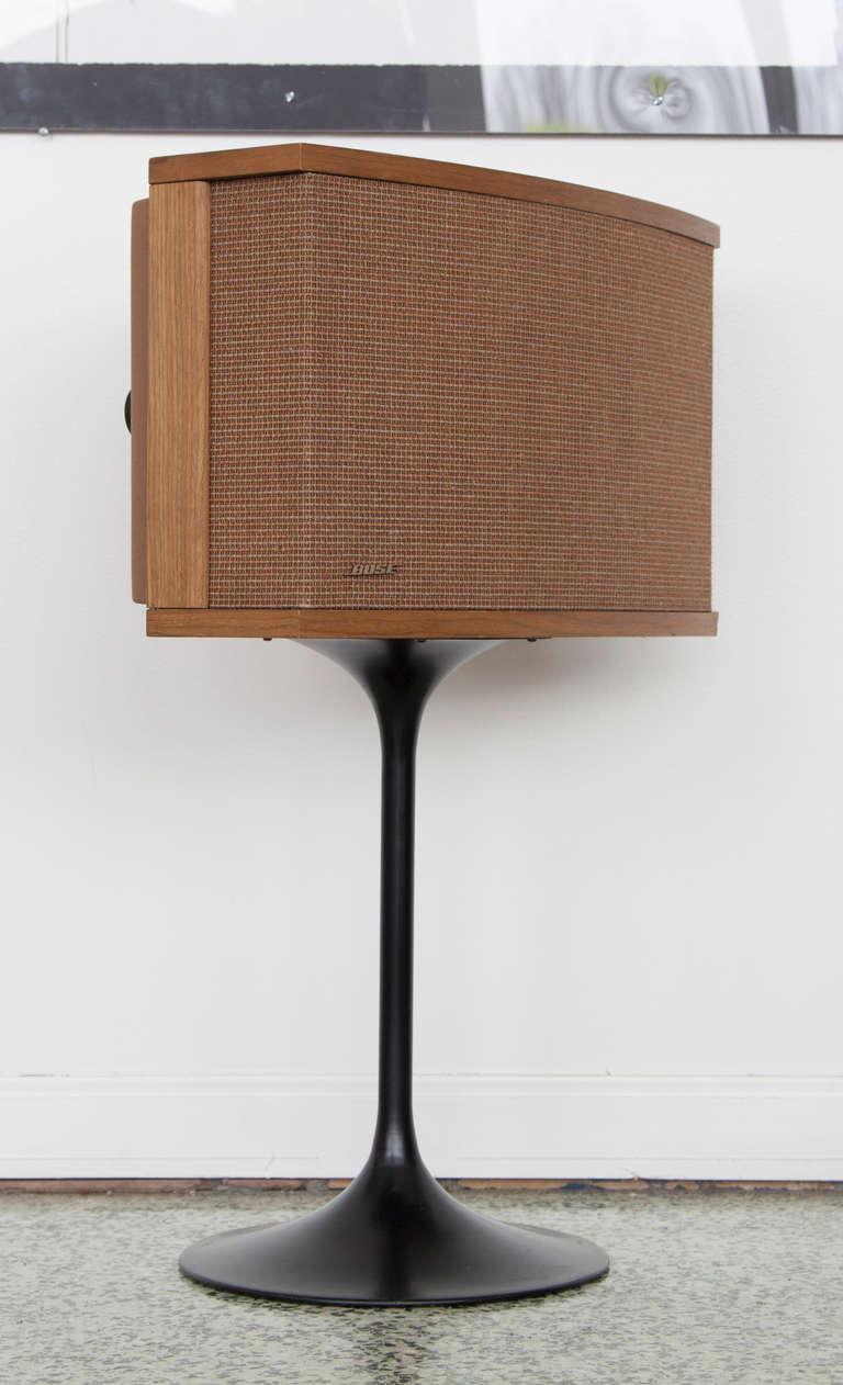 Pair Of Bose Tulip Mid Century Modern Speakers At 1stdibs