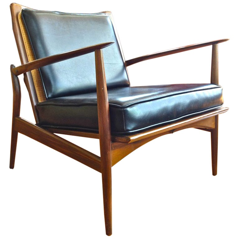 Stunning Danish Modern Lounge Chair at 1stdibs
