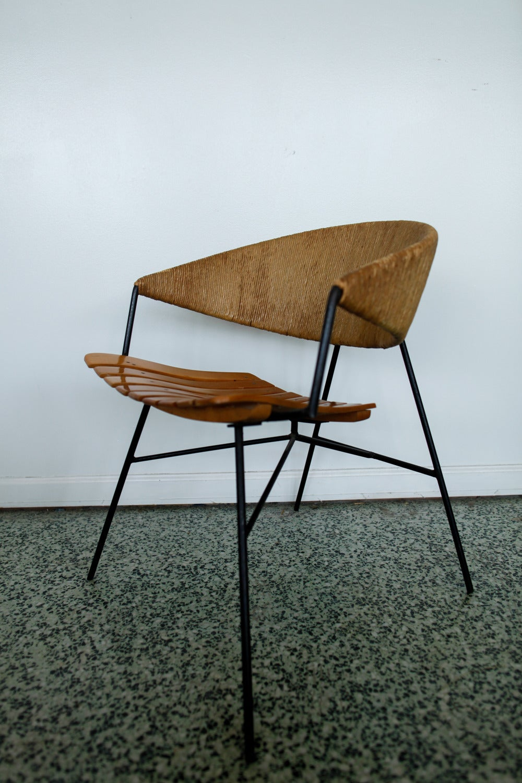 Scarce Pair Of Arthur Umanoff Lounge Chairs At 1stdibs