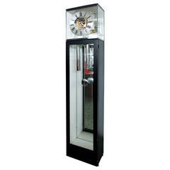 George Nelson Lucite Grandfather Clock for Howard Miller