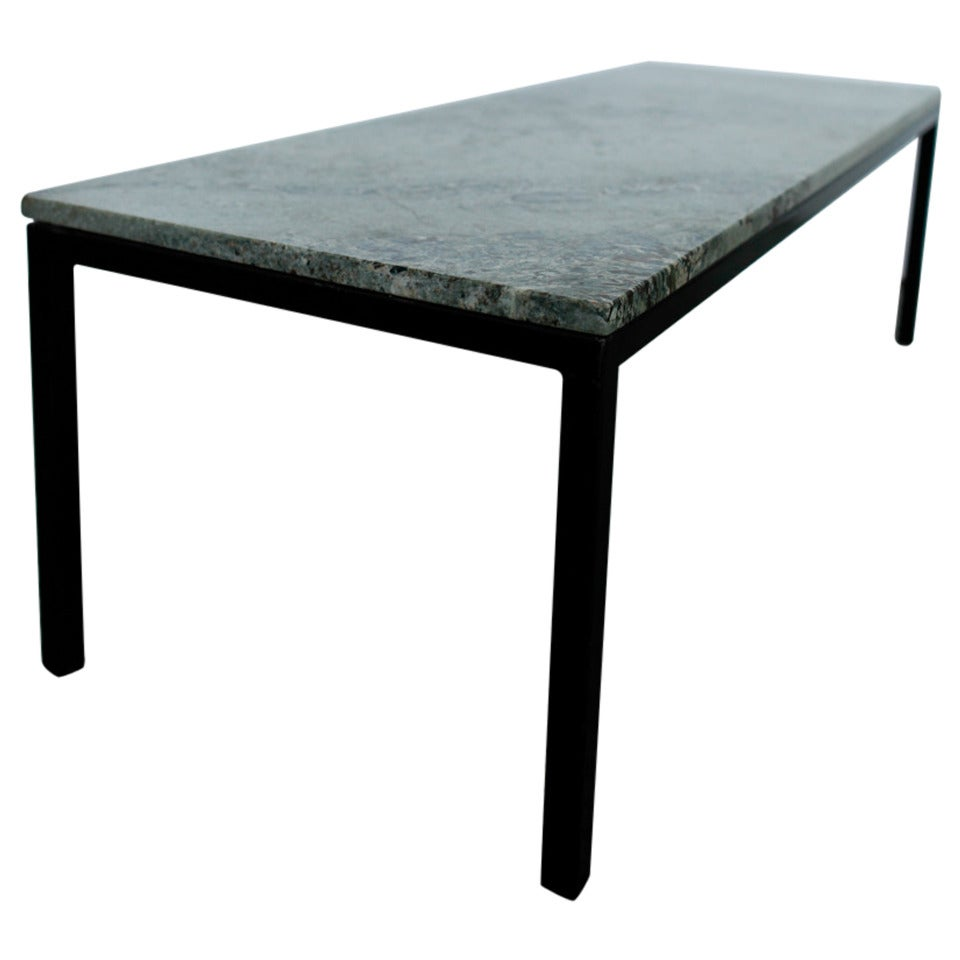 Florence Knoll Marble Coffee Table Mid Century Modern At 1stdibs