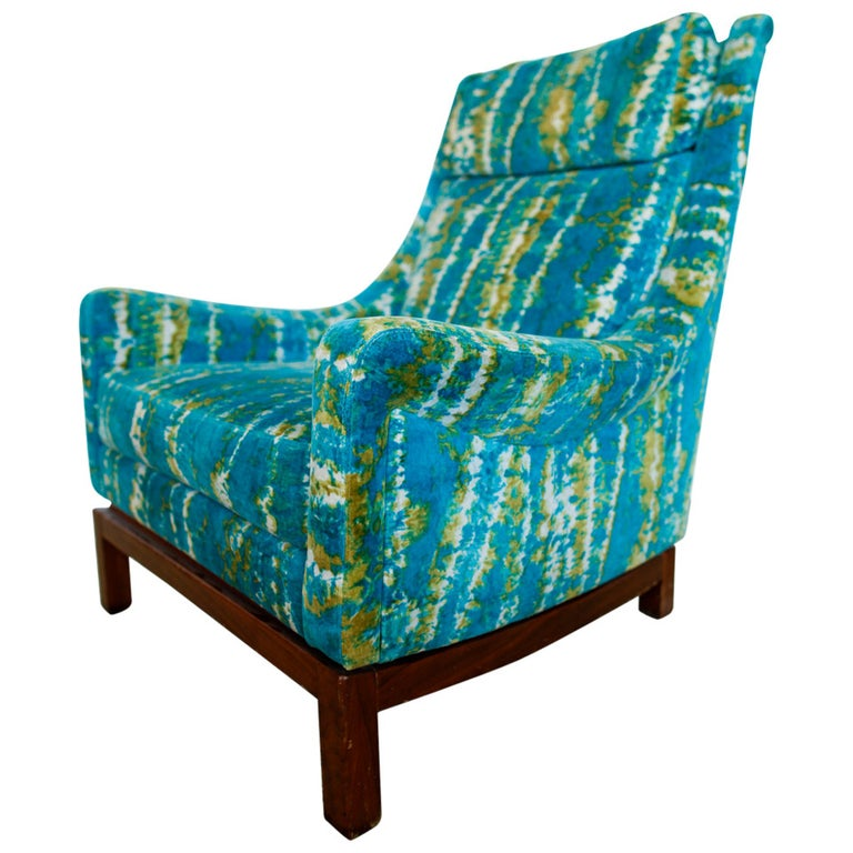 """""""Impressive"""" Mid-Century Lounge Chair For Sale"""