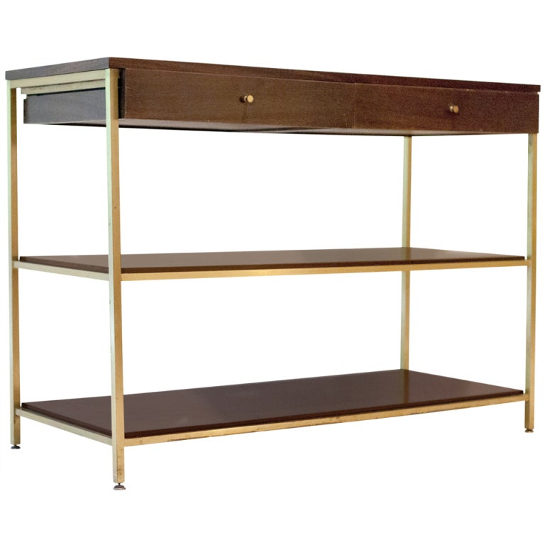 Tall Console Sofa Table Designed By Paul McCobb For Calvin 1