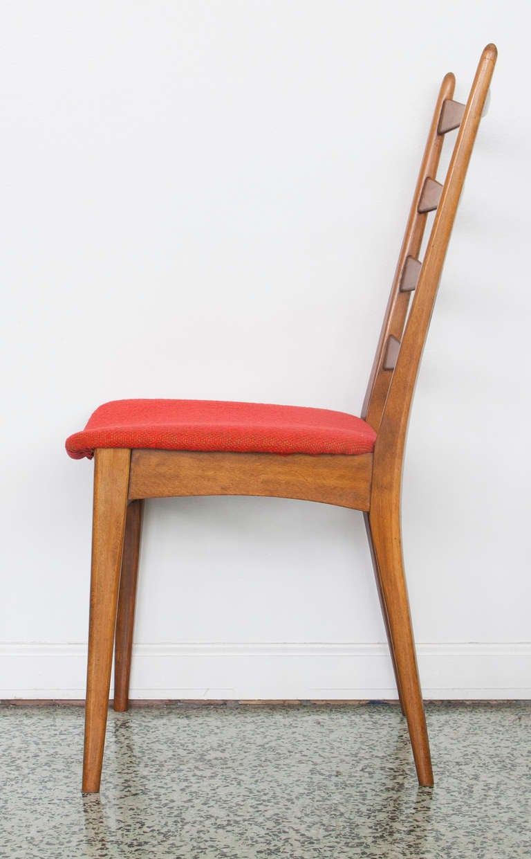 modern midcentury ladder back dining chairs is no longer available
