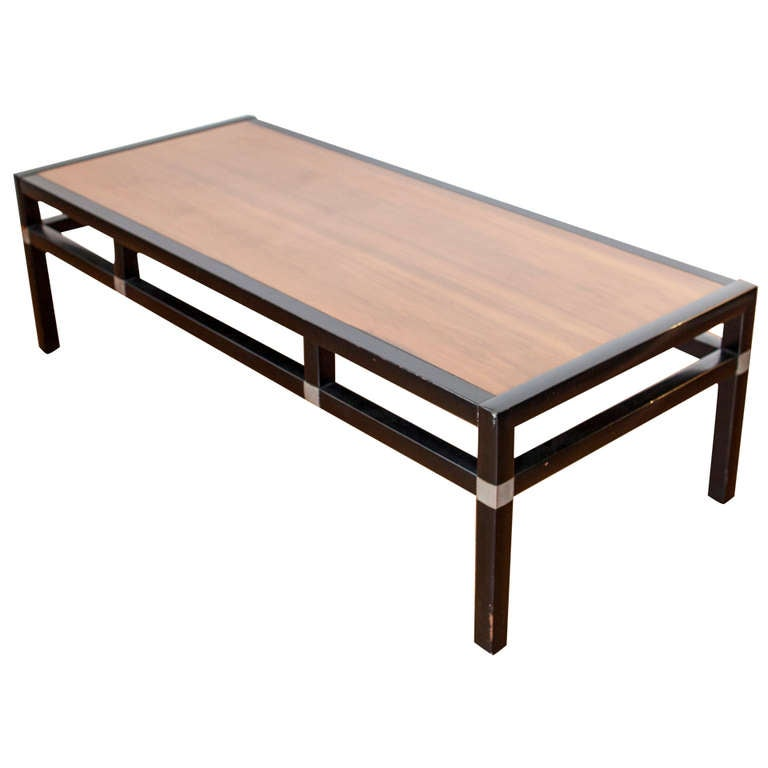 Mid-Century Asian Inspired Coffee Table At 1stdibs