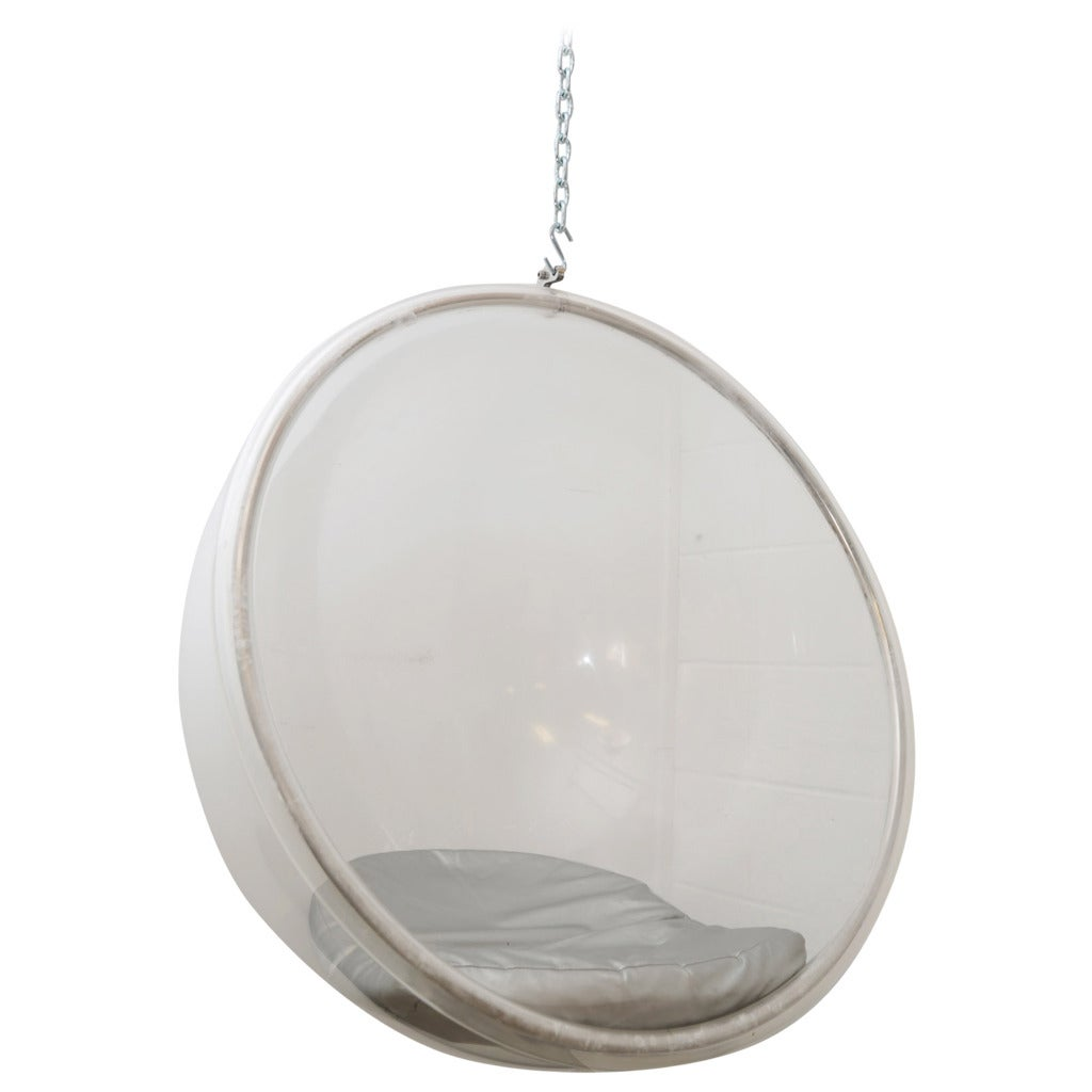hanging eero aarnio bubble chair at 1stdibs. Black Bedroom Furniture Sets. Home Design Ideas