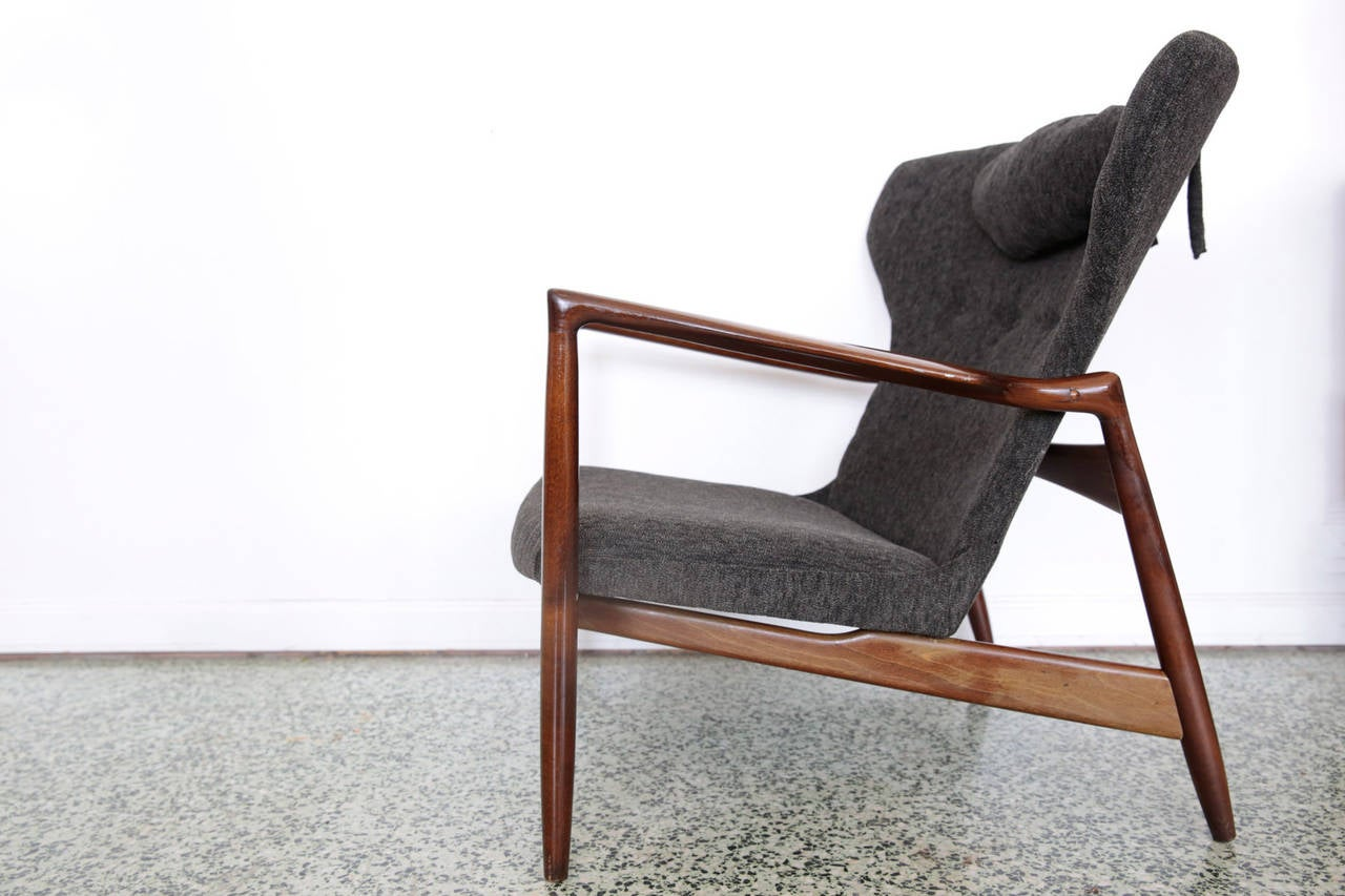 Kofod Larsen Lounge Chair for Selig at 1stdibs