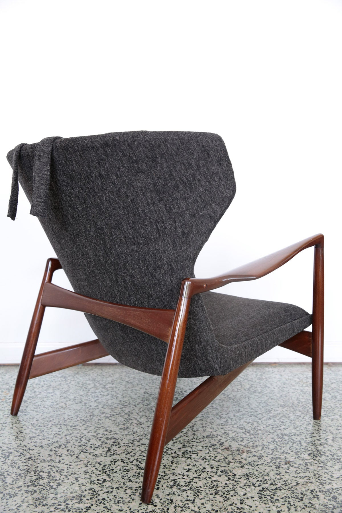 Kofod Larsen Lounge Chair for Selig at 1stdibs