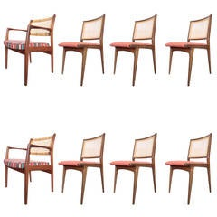 DUX Dining Chairs Set of Eight