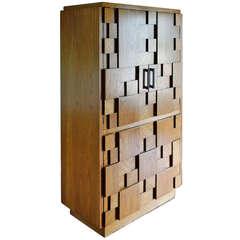 Lane Brutalist Paul Evans Style Dresser