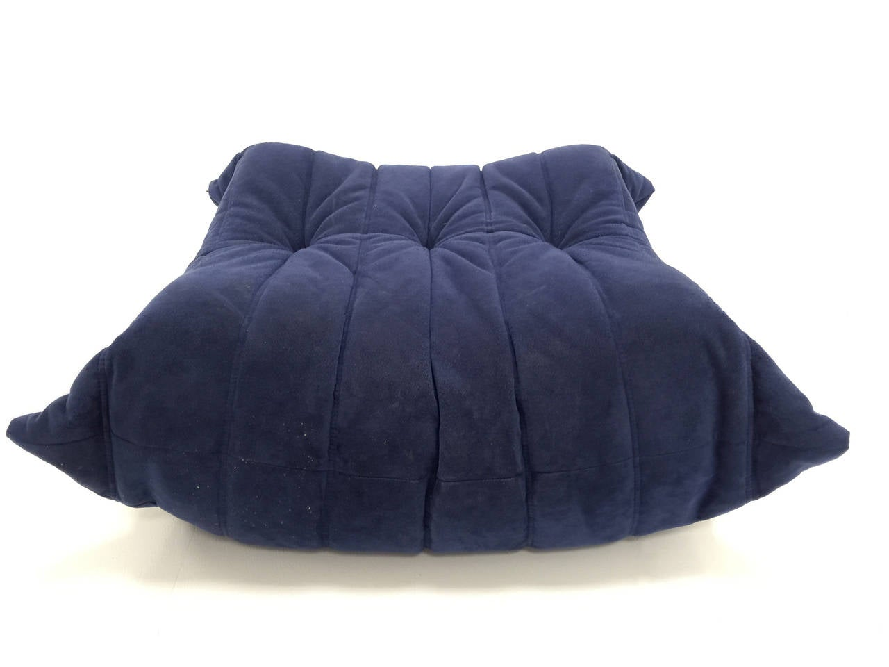 pair of ligne roset 39 togo 39 sofa ottomans by michel ducaroy at 1stdibs. Black Bedroom Furniture Sets. Home Design Ideas