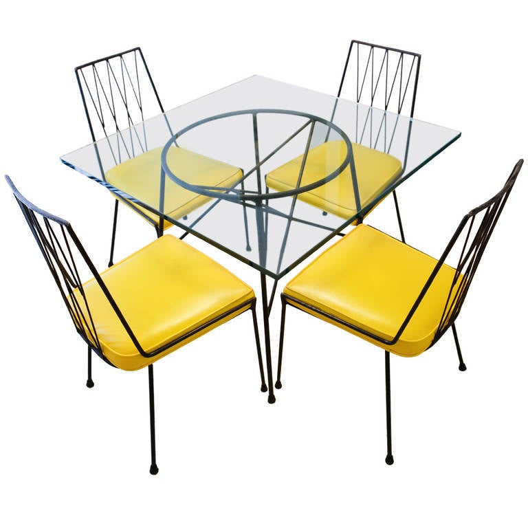 Exceptionnel Yellow Dining Set Designed By Paul McCobb For Arbuck