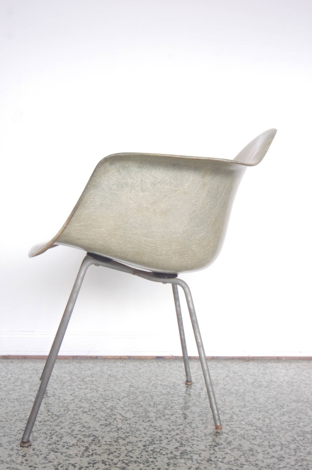 Mid-20th Century Eames SAX Armchair by Zenith Plastics for Herman Miller For Sale