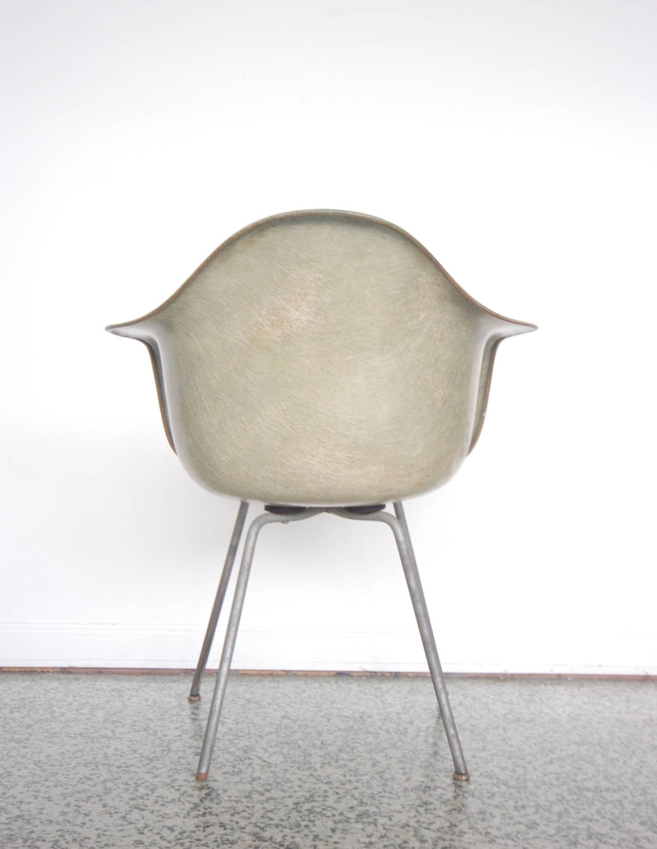 Eames SAX Armchair by Zenith Plastics for Herman Miller For Sale 1