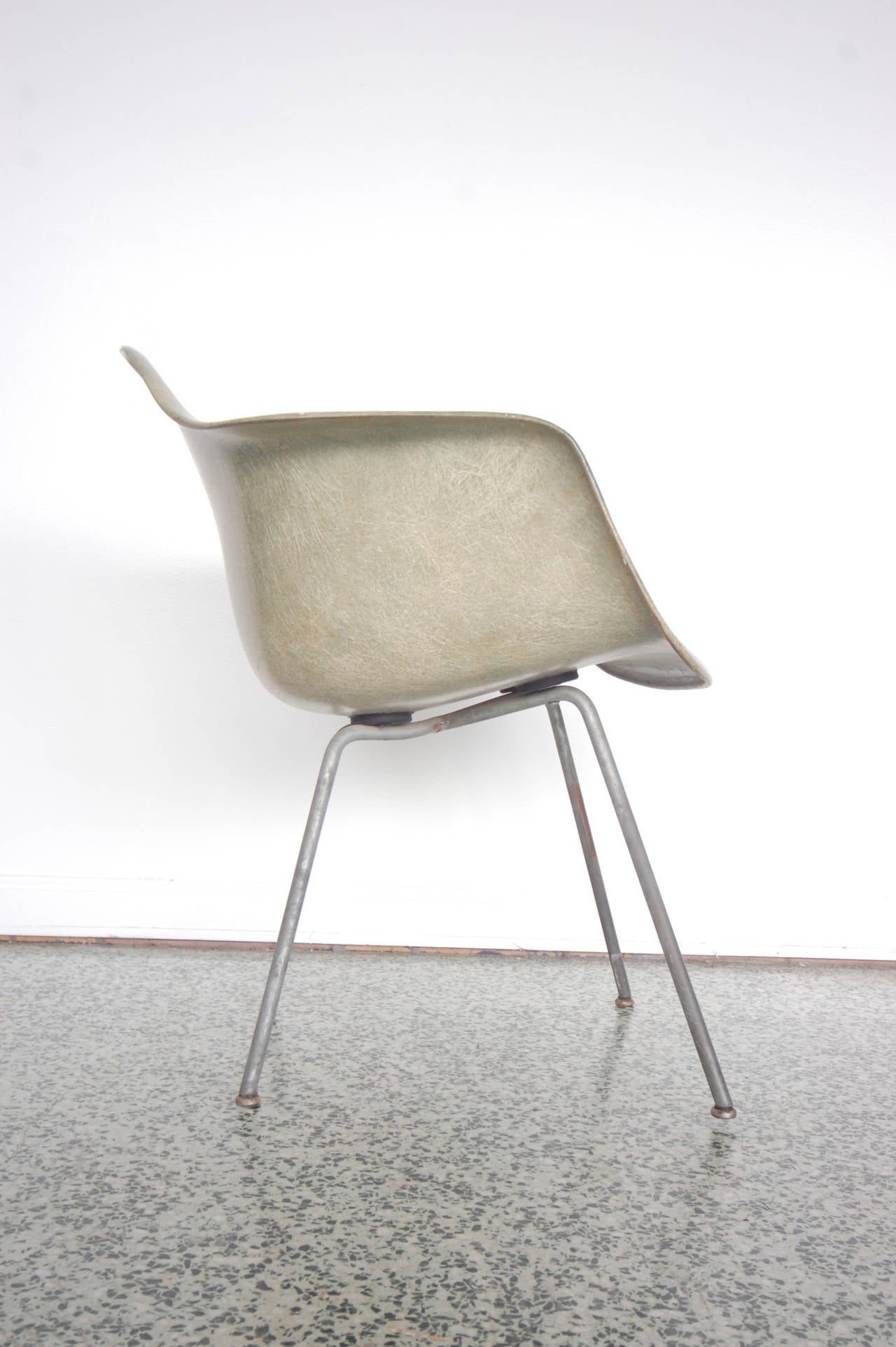 Eames SAX Armchair by Zenith Plastics for Herman Miller For Sale 2