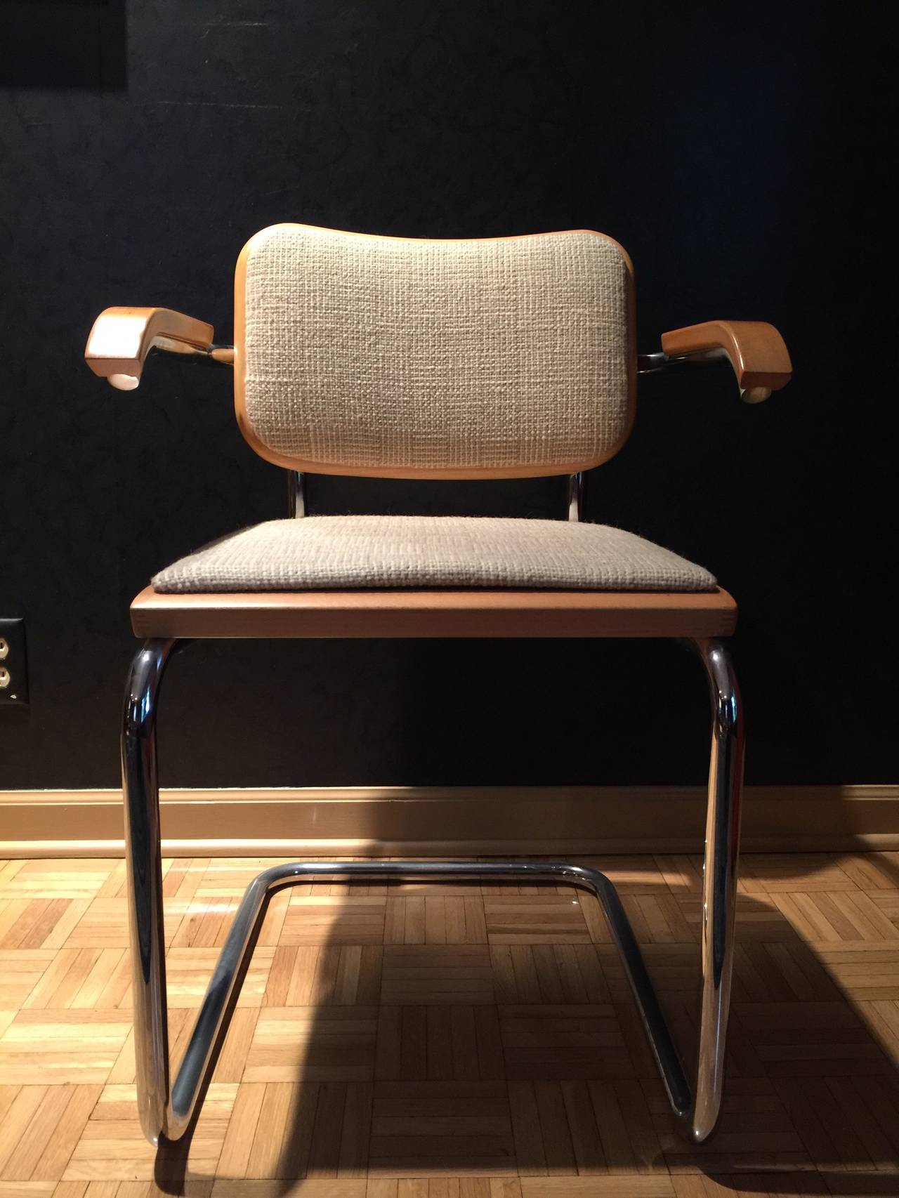Incredible Set Of Ten Cesca Chairs By Marcel Breuer For