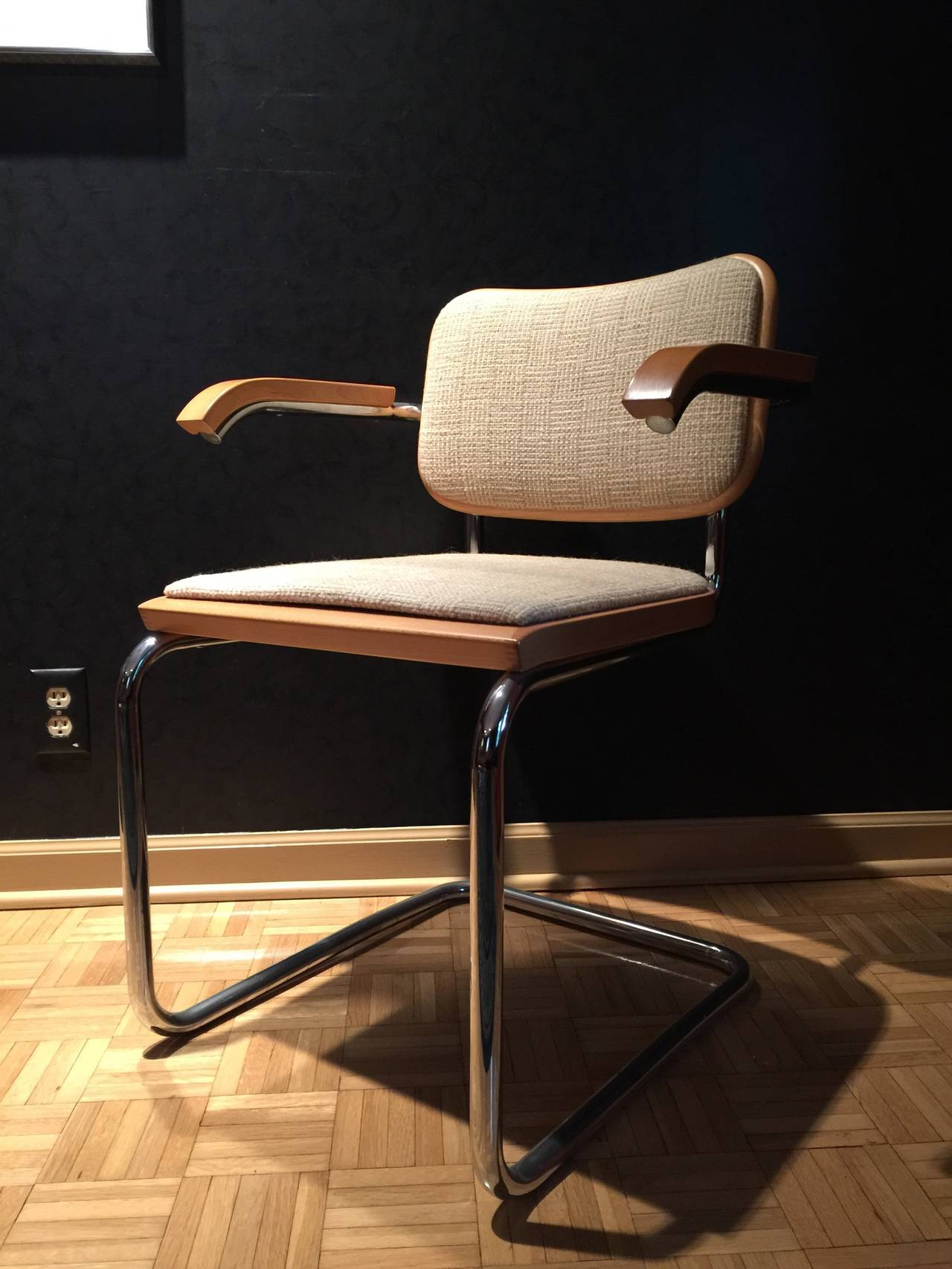 Incredible Set of Ten Cesca Chairs by Marcel Breuer for Knoll with