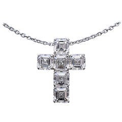 Nally GIA Diamond Cross