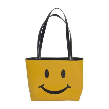 1stdibs Moschino Vintage smiley Face Pouch Un4ze